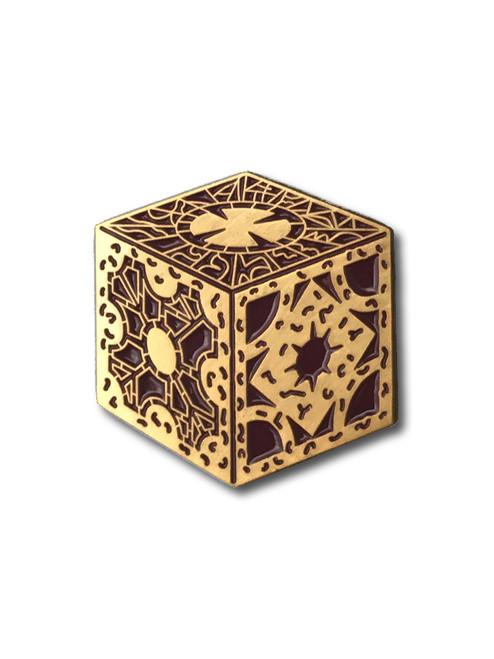 Puzzle Box Enamel Pin