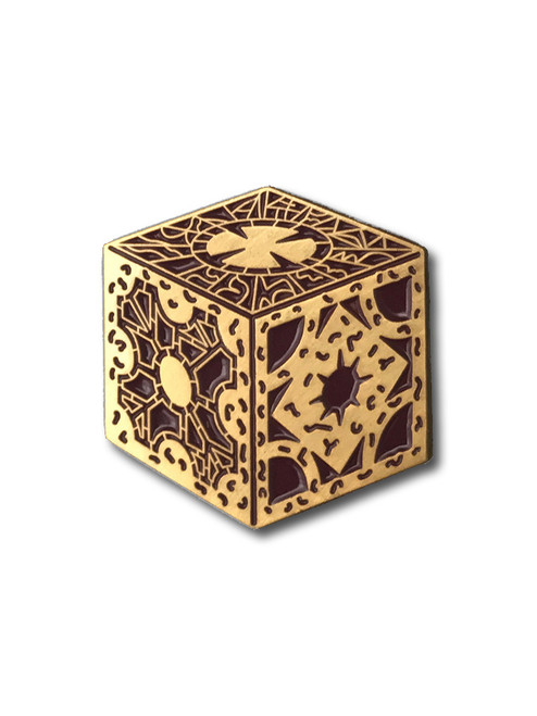 Puzzle Box Enamel Pin