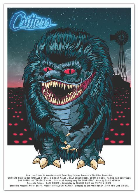 Critters Print