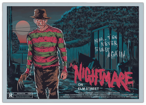 Nightmare on Elm Street Print