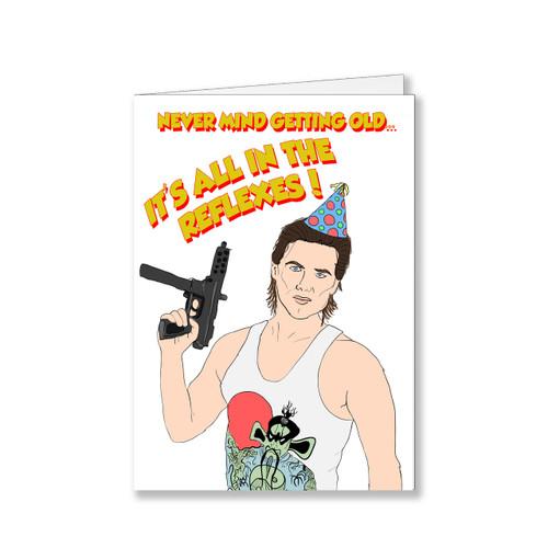 Jack Burton Birthday Card