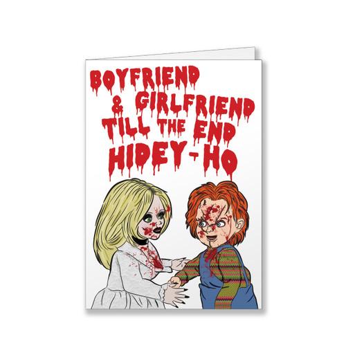 Chucky Valentine's / Anniversary Card