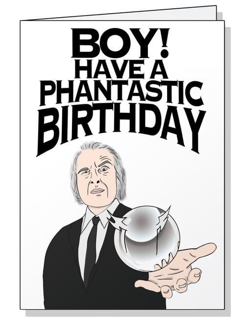 Tall Man Birthday Card