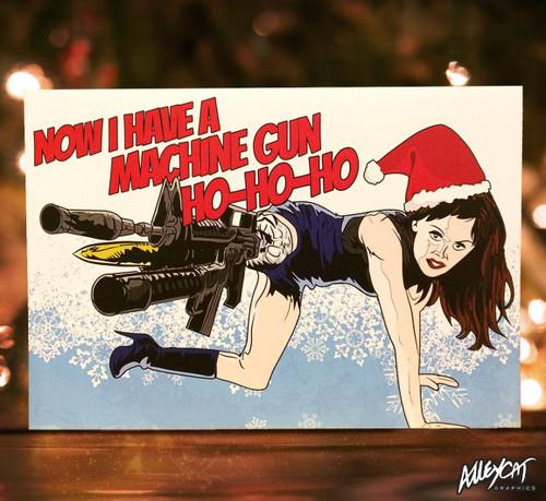 Cherry Darling Christmas Card