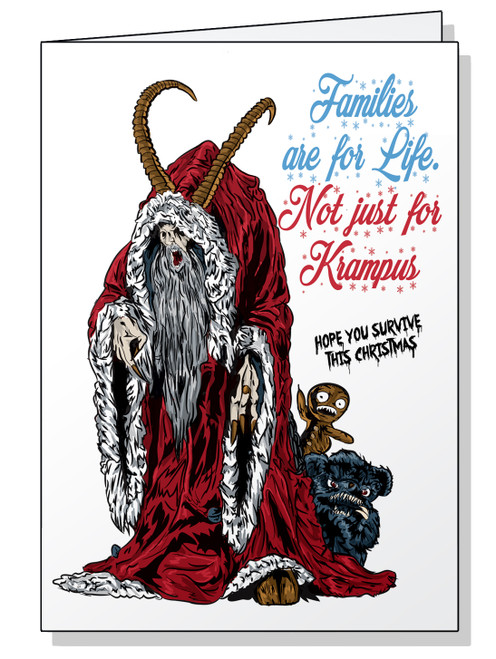 Krampus Christmas Card