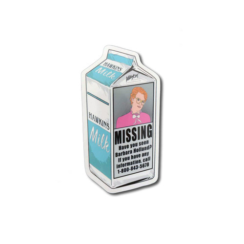 Barb Milk Carton Sticker