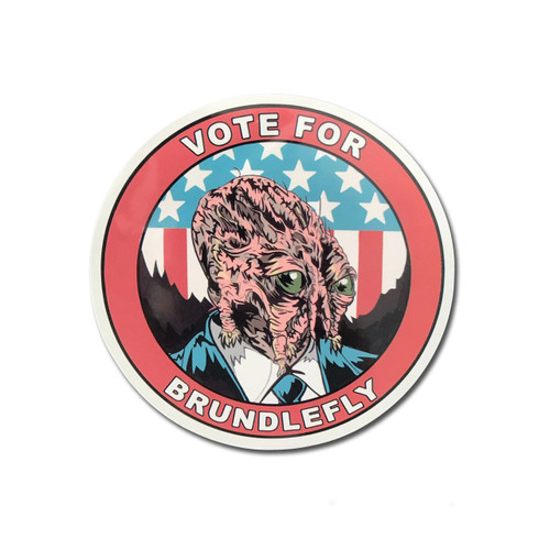 Brundle Insect Politics Sticker