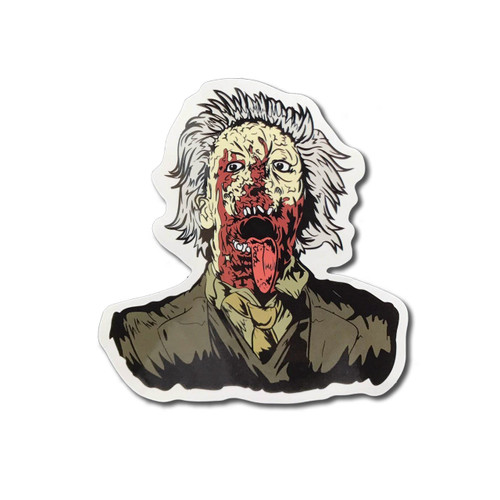 Dr Tongue Zombie Sticker