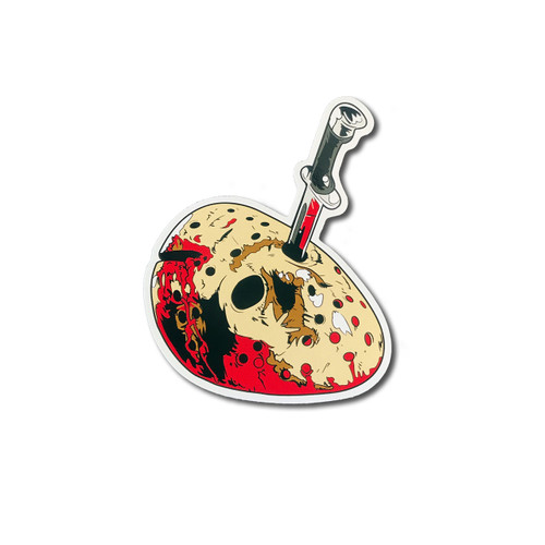 Jason Mask Sticker