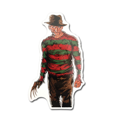 Freddy Fridge Magnet