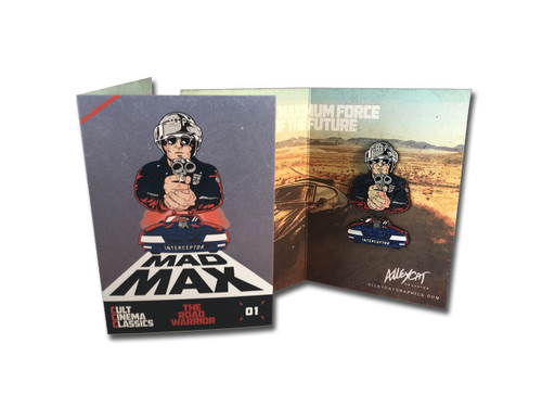 The Road Warrior Two Pin Set