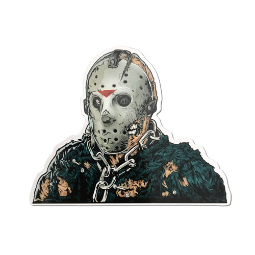 Jason Voorhees Fridge Magnet