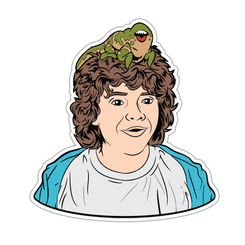 Dustin & Dart Sticker