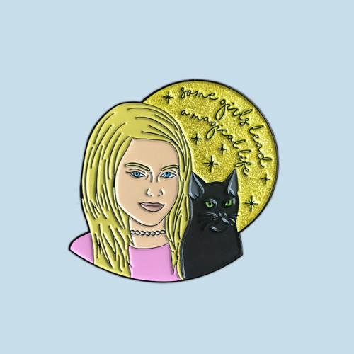 Sabrina the Teenage Witch Enamel Pin
