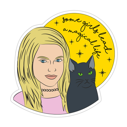 Sabrina the Teenage Witch Sticker