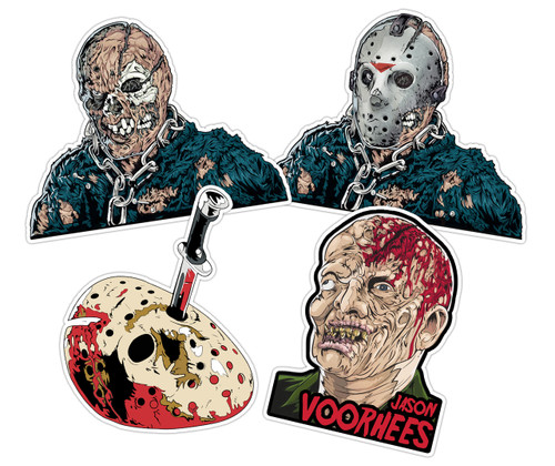 Jason Voorhees Sticker Pack