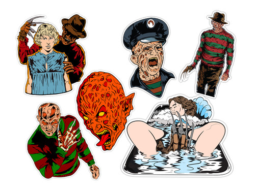 Nightmare on Elm Street Sticker Pack