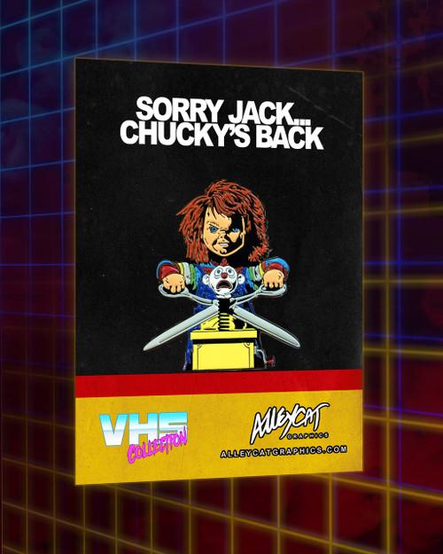 Chucky Enamel Pin