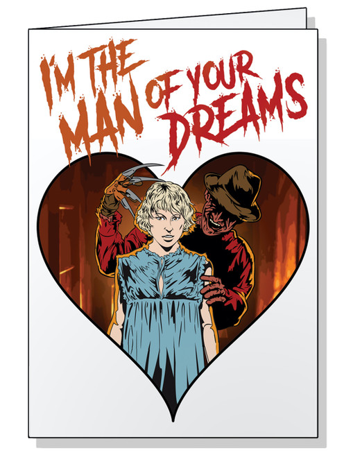 I'm the Man of Your Dreams Valentine's Card