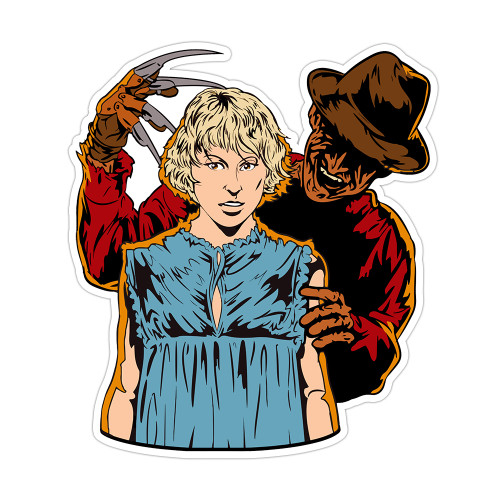 Freddy and Tina Vinyl Sticker