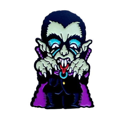Dracula Scumbags & Superstars Enamel Pin