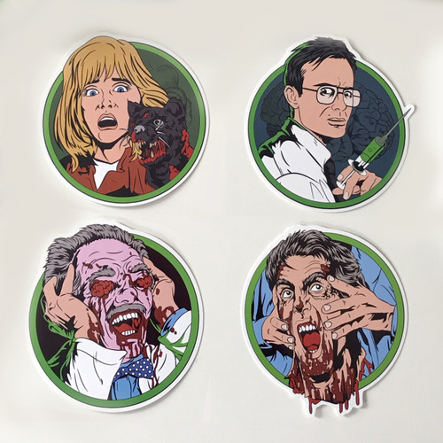 Re-Animator Sticker Pack