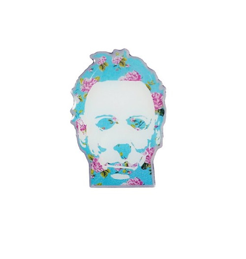 Floral Michael Pin