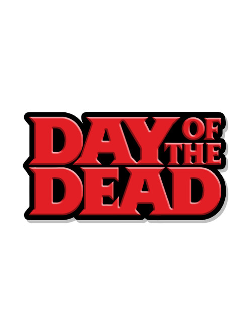 Day of the Dead Logo Pin