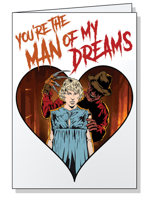 You're the Man of My Dreams Valentine's Card