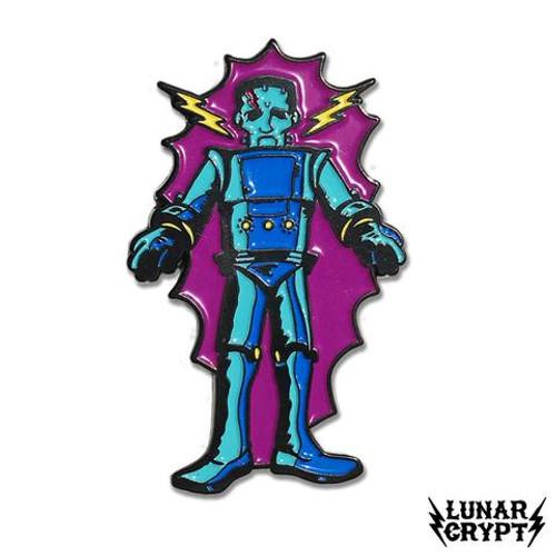 Robot Monster Enamel Pin