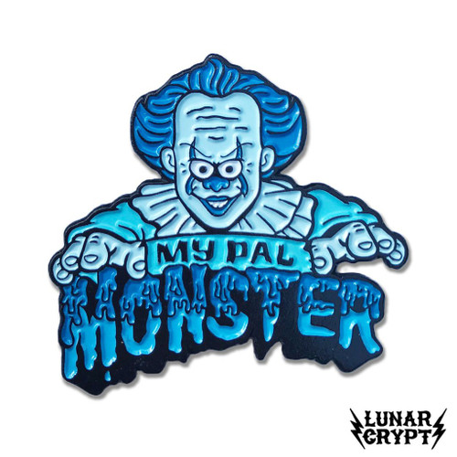 My Pal Monster - Blue Pennywise Enamel Pin