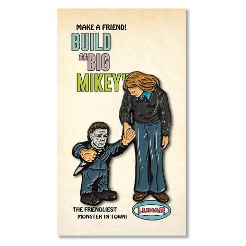 Build Big Mikey Enamel Pin