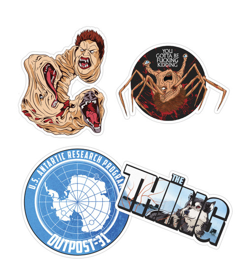 The Thing Sticker Pack