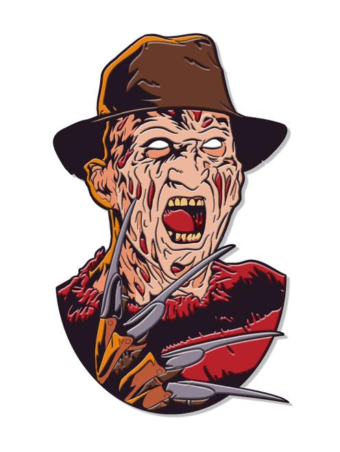 Freddy Enamel Pin