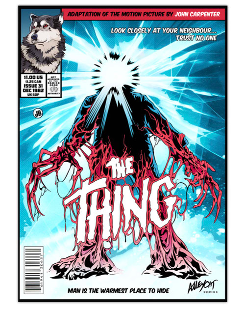The Thing Comic Cover Print