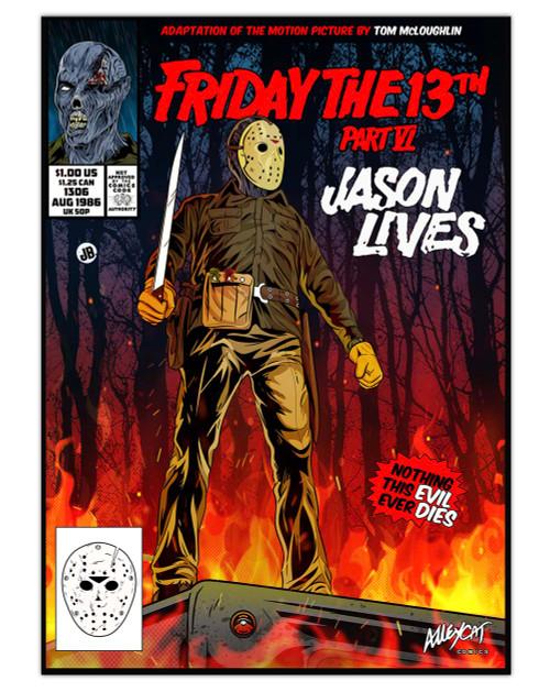Jason Lives Comic Cover Print