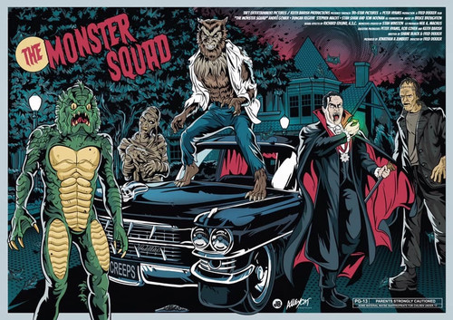 Monster Squad Print