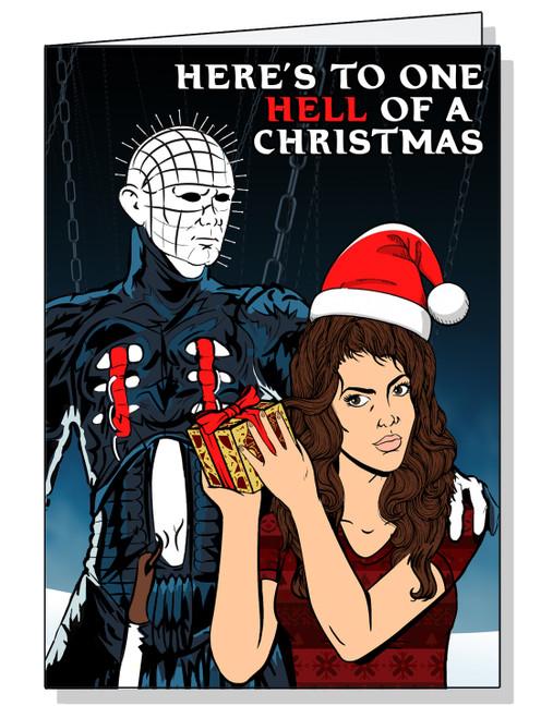 Hellraiser Christmas Card