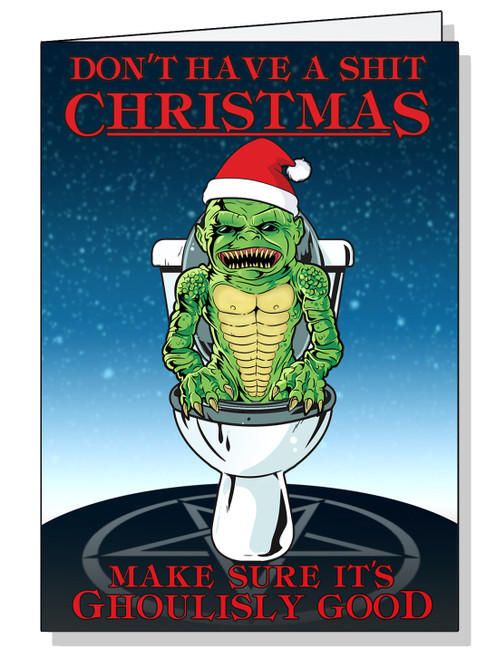 Ghoulies Christmas Card