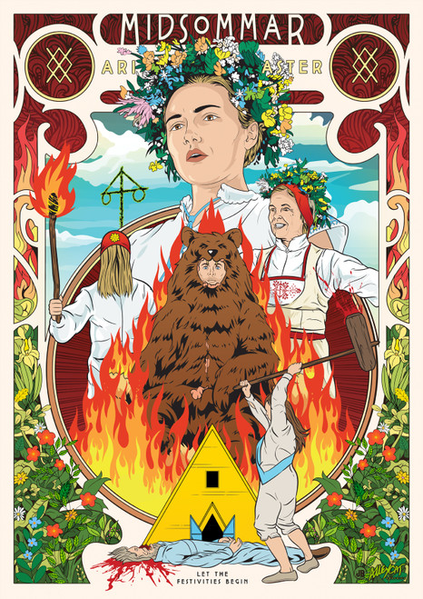 Midsommar Poster Print