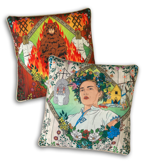 Midsommar Double Sided Cushion Cover