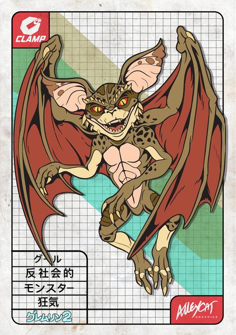 Bat Gremlin Mini Print