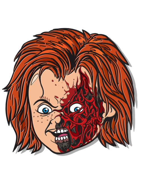 Chucky 3 Enamel Pin