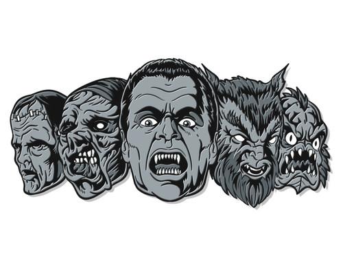 Monster Squad Enamel Pin - Vintage Variant