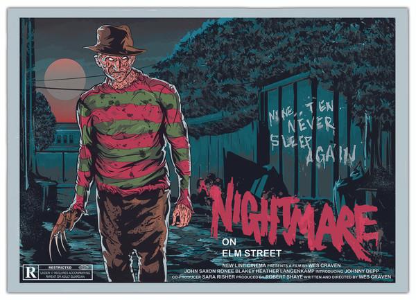 Nightmare on Elm Street Print
