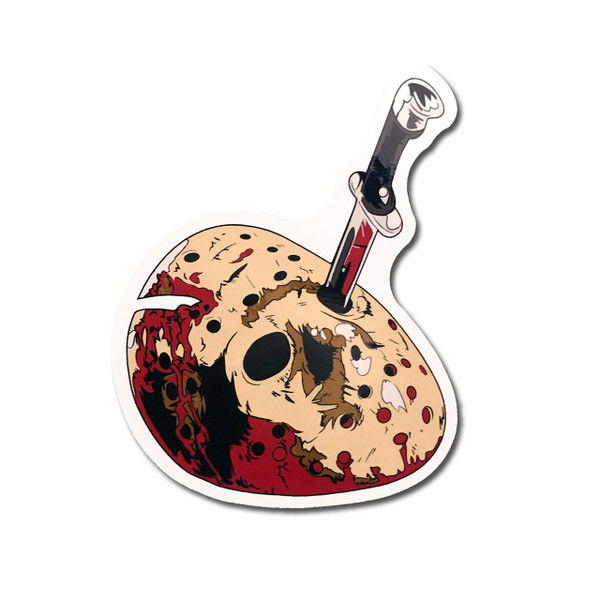 Jason Mask Fridge Magnet