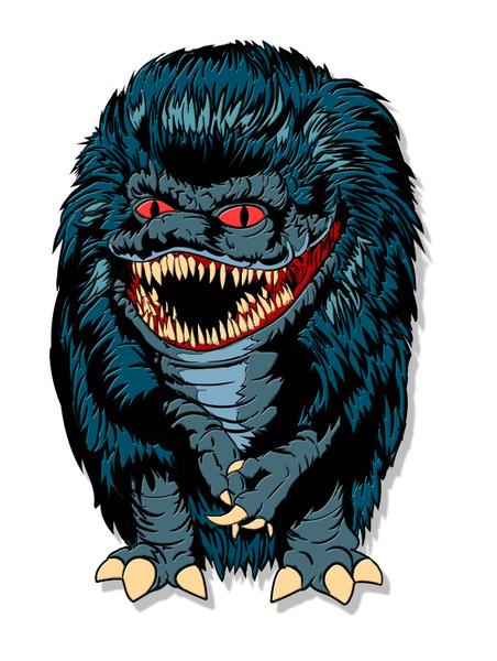 Blue Critter Enamel Pin