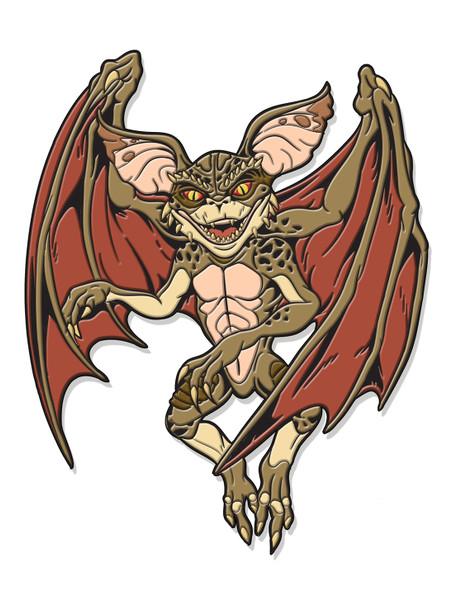The Bat Enamel Pin