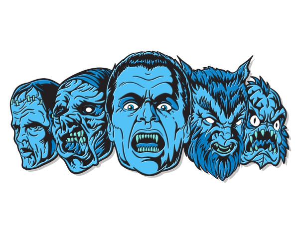 Monster Squad Enamel Pin