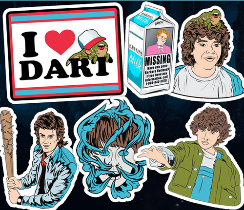 Stranger Things Sticker Pack Alleycat Graphics